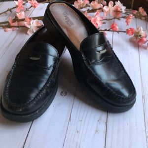 Bass Weejuns Leather Penny Loafers Size 9